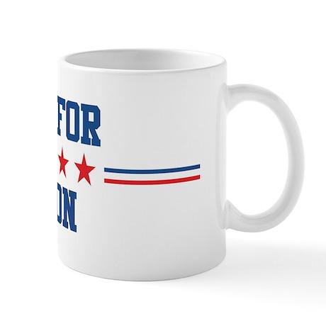 Vote for JARON Mug