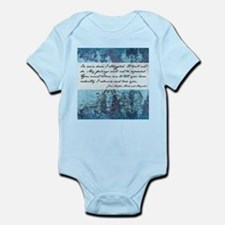 Pride and Prejudice Quote Infant Bodysuit