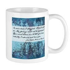 Pride and Prejudice Quote Small Mug