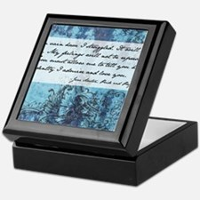Pride and Prejudice Quote Keepsake Box