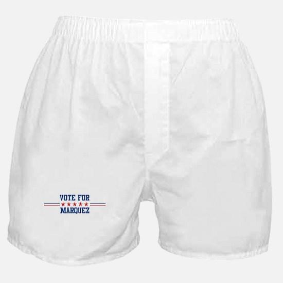 Vote for MARQUEZ Boxer Shorts