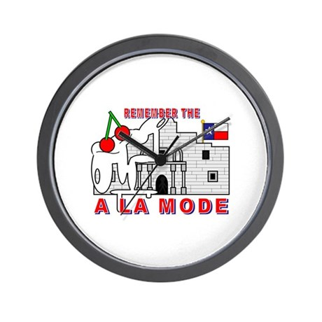 A LA MODE Wall Clock