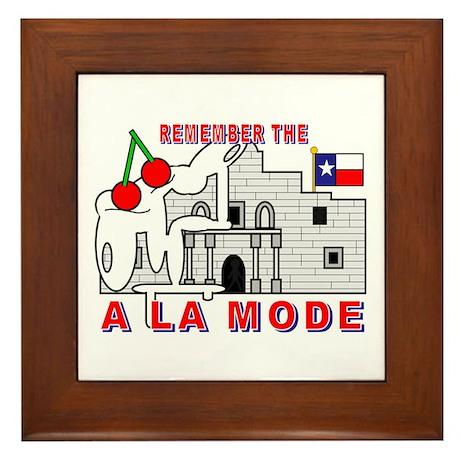 A LA MODE Framed Tile