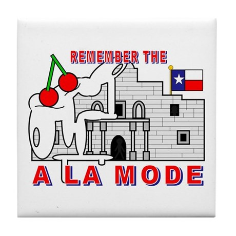 A LA MODE Tile Coaster
