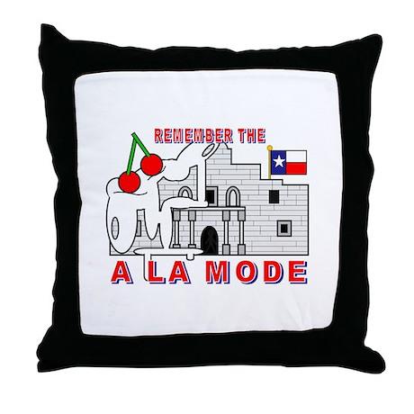 A LA MODE Throw Pillow