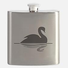 Black Swan Flask