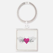 My Sweet Angel Annalise Square Keychain