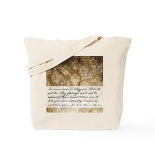 Pride and Prejudice Quote Tote Bag