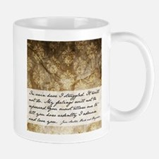Pride and Prejudice Quote Mug