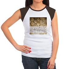 Pride and Prejudice Quote Women's Cap Sleeve T-Shi