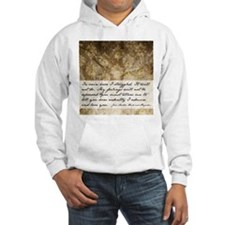Pride and Prejudice Quote Hoodie