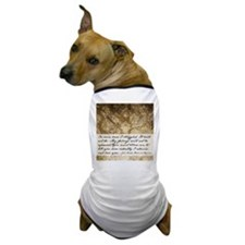 Pride and Prejudice Quote Dog T-Shirt