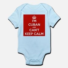 I'm Cuban and I Can't Keep Calm Onesie