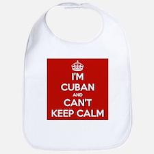 I'm Cuban and I Can't Keep Calm Bib