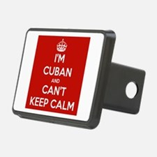 I'm Cuban and I Can't Keep Calm Hitch Cover