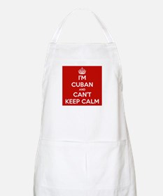 I'm Cuban and I Can't Keep Calm Apron