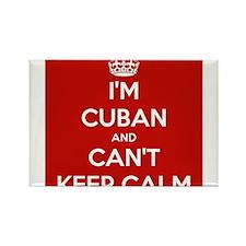 I'm Cuban and I Can't Keep Calm Rectangle Magnet