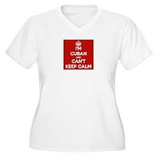I'm Cuban and I Can't Keep Calm T-Shirt