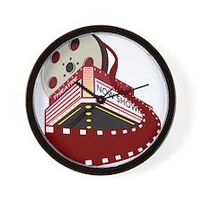 Cute Movie Wall Clock