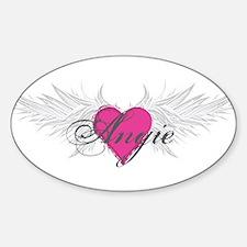 My Sweet Angel Angie Sticker (Oval)