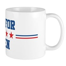 Vote for JAREN Small Small Mug