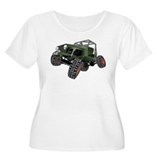 jeep truck rock crawler offroad race T-Shirt