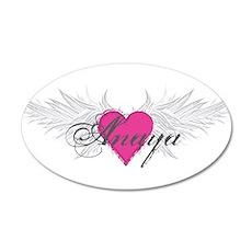 My Sweet Angel Anaya 35x21 Oval Wall Decal