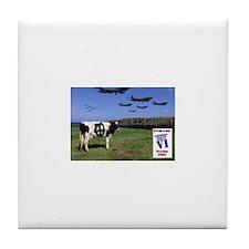 """""""Peace Cow"""" Tile Coaster"""