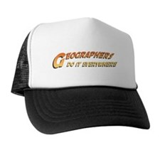Geographers Do It Everywhere Trucker Hat