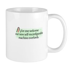 AI overlords dark Small Small Mug