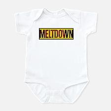 The Official MELTDOWN logo Infant Bodysuit
