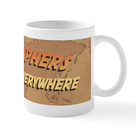 Geographers Do It Everywhere Mug