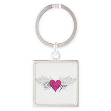 My Sweet Angel Amiya Square Keychain