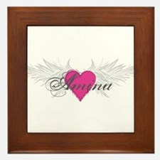 My Sweet Angel Amina Framed Tile