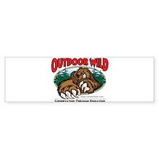 Outdoor Wild Gear Bumper Sticker