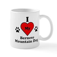 I Heart My Bernese Mountain Dog Mug