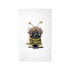 Mastiff Bee 3'x5' Area Rug