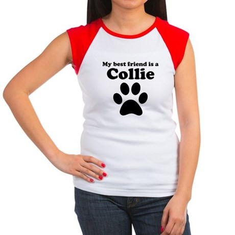 Collie Best Friend Women's Cap Sleeve T-Shirt