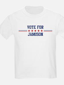 Vote for JAMISON Kids T-Shirt