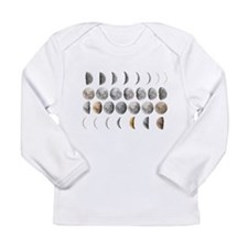 Moon Phases Long Sleeve Infant T-Shirt