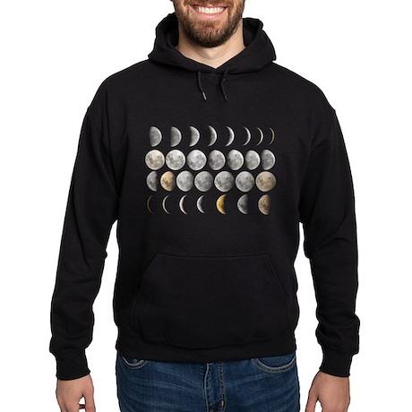 Moon Phases Hoodie (dark)