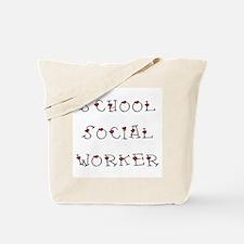 School SW Hearts Tote Bag