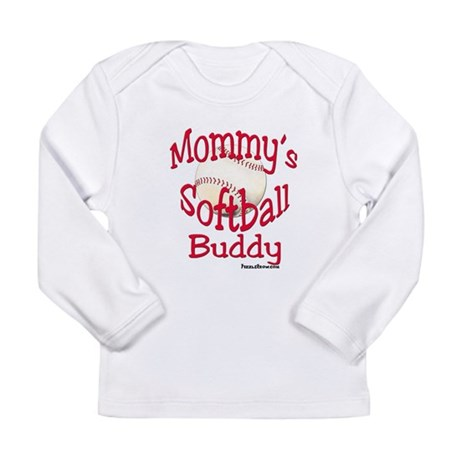 mommyssoftballbuddy Long Sleeve T-Shirt