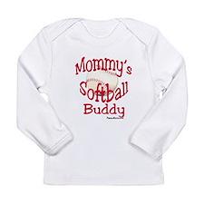 mommyssoftballbuddy Long Sleeve T-Shirt