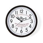 Pacific Speed & Custom Wall Clock