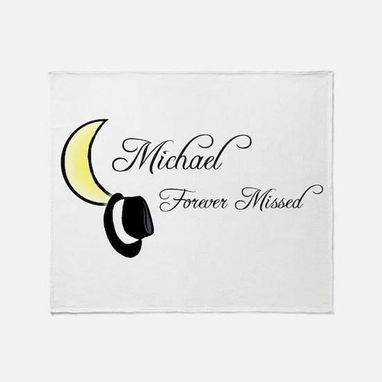 MJ Remember Throw Blanket