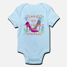 READY TO CONQUER THE WORLD Infant Bodysuit