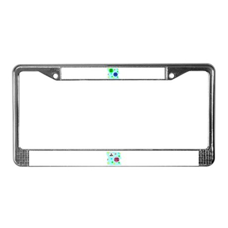 PARTY POOPER License Plate Frame