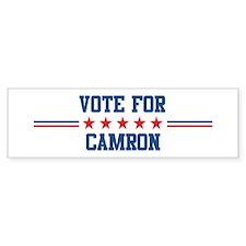 Vote for CAMRON Bumper Bumper Sticker