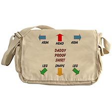 Daddy Proof Messenger Bag
